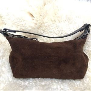 Coach Small Suede Bag